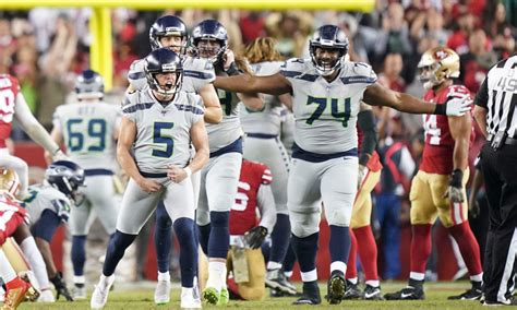 studs   duds  seahawks wild overtime defeat  ers
