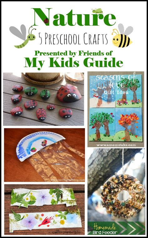 5 awesome nature preschool crafts for kids mykidsguide