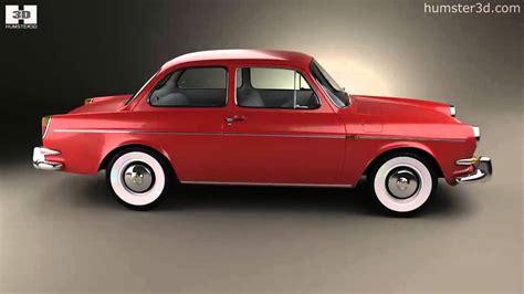 Volkswagen 1500 (type 3) Notchback 1961 By 3d Model Store