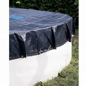 Bache Piscine Hors Sol : bache de piscine hors sol hiver pour bassin de 4 60 m ~ Dailycaller-alerts.com Idées de Décoration