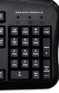 tastatur  verstellt  der seite die zahlen gehen