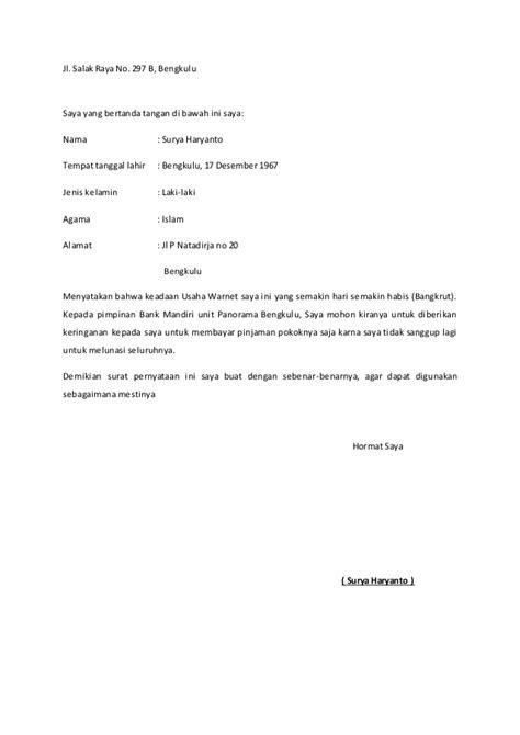format surat pernyataan tidak mengulangi kesalahan 10