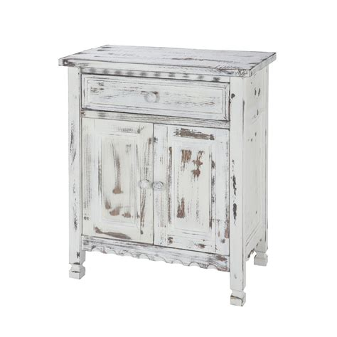 Country Cottage Furniture Alaterre Furniture Country Cottage White Antique Accent