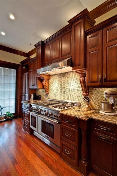 best 15 wood kitchen designs 25 best ideas about cherry kitchen cabinets on