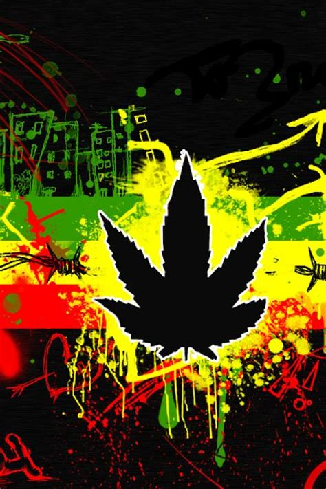 rasta weed wallpaper gallery