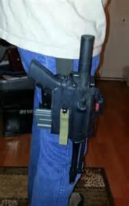 AR Pistol Holster Kydex