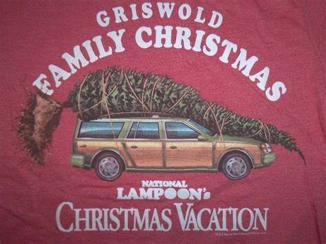 griswold car with christmas tree pics national loon s vacation t shirt griswold family retro 80 ebay