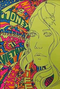 1960s Psychedelic Art ( retro illustration / 60's / hippie ...