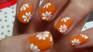Nail art flowers flower designs