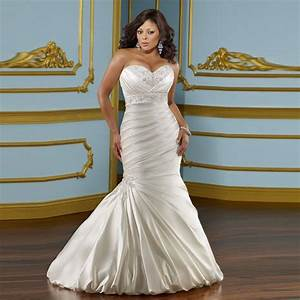 2016 sweetheart beaded wedding dresses mermaid bride dress With plus size mermaid wedding dresses