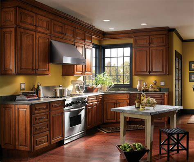 traditional cherry kitchen cabinets schrock