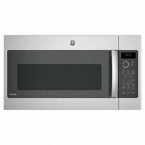 Ge Profile 1 7 Cu  Ft  Over The Range Convection Microwave