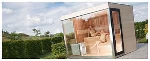 saunas exterieurs alpha industries generation bien etre With construire un sauna exterieur
