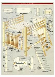 Bunk Bed Plans Pdf BED PLANS DIY & BLUEPRINTS