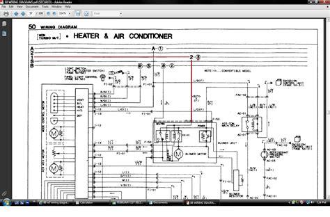 88 Mazda 323 Wiring Diagram by 88 Rx7 Wiring Diagram Rx7club Mazda Rx7 Forum