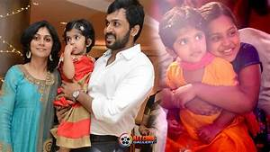 Actor Karthi Sivakumar Family Photos - Wife Ranjini ...