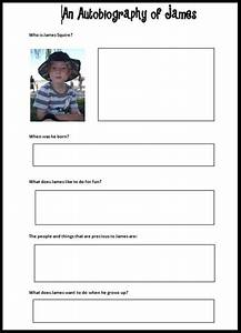 best 25 autobiography template ideas on pinterest With sample biography template for students