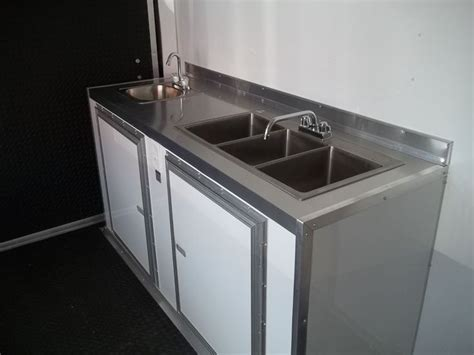 portable concession sink for sale loaded 7 x 12 enclosed concession trailer with electrical