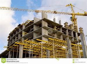 Crane Bilding Stock Image  Image Of Building  Cargo
