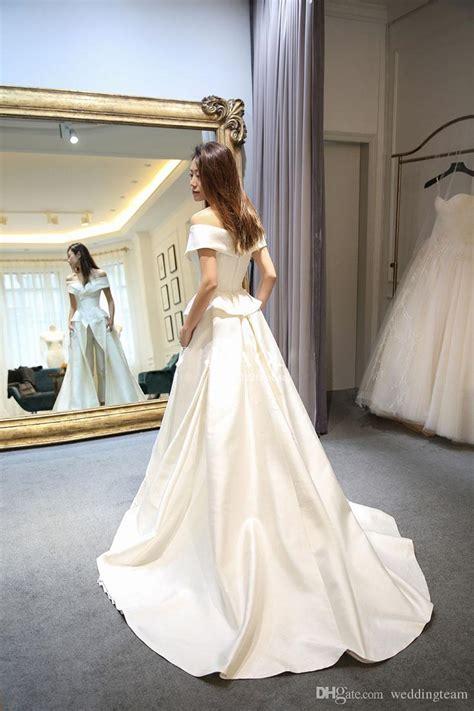 discount hot sale  pieces jumpsuits wedding dresses