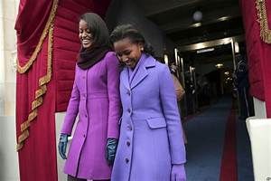 Obama Daughters Unfazed by Global Spotlight