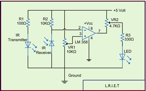 Sensor Circuit Working With Applications