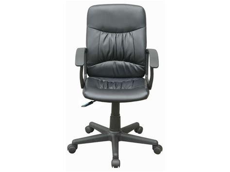 fauteuil de bureau mario coloris noir vente de fauteuil