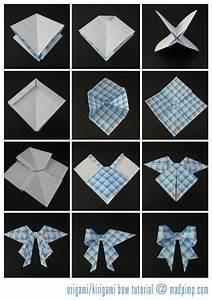 Faire Des Origami : faire des n uds en origami sacs d jeuner pinterest origami papier origami et papier ~ Nature-et-papiers.com Idées de Décoration