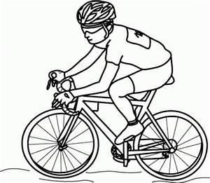 Dibujos de ciclistas para imprimir y colorear Colorear imágenes