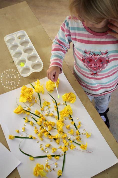 winter bloemen australie australian wattle craft for kids danya banya