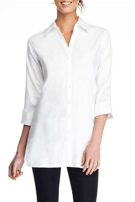 foxcroft blouses no iron foxcroft no iron shaped blouse from york by