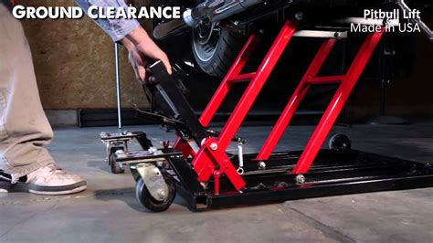 Motorcycle Lift Comparison Video