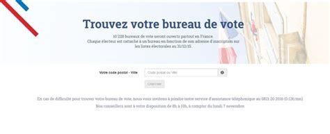 connaitre bureau de vote comment connaitre bureau de vote 28 images votez a