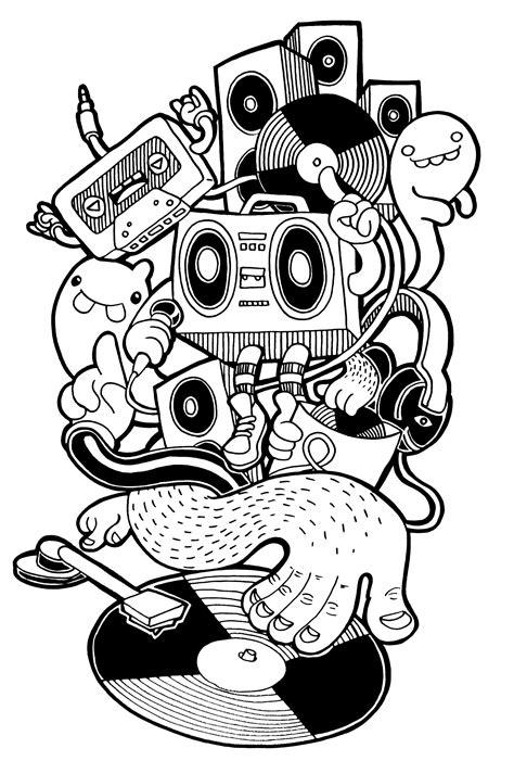 BOBSMADE | Doodle art, Doodle art drawing, Graffiti characters