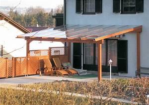 Terrassenüberdachung Günstig Selber Bauen : terrassen berdachung holz g nstig in schwarz farbe mit glasdach ~ Frokenaadalensverden.com Haus und Dekorationen