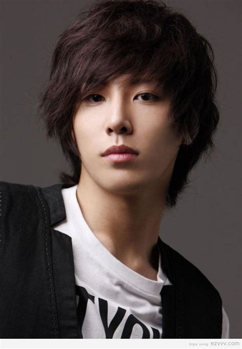 asian men hairstyles square face asian pinterest