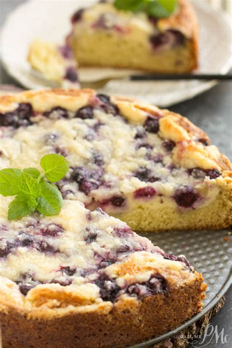 streusel topped blueberry cream cheese coffee cake call