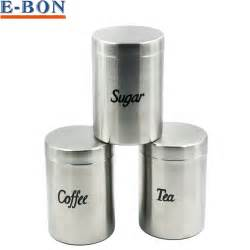 stainless steel canisters kitchen 1pc stainless steel coffee tea sugar seal pot metal
