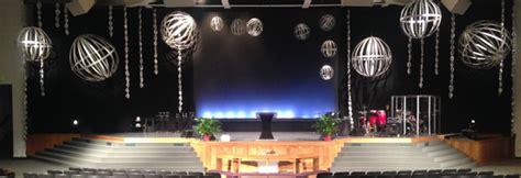 ornaments  trails church stage design ideas