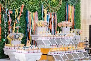 Kara39s Party Ideas Coachella Inspired Boho Birthday Party