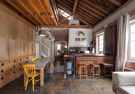 Small Loft In An School by Industrial Chic Loft In Historic Ragged School