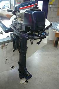 Yamaha 4hp Outboard Engine 6eo
