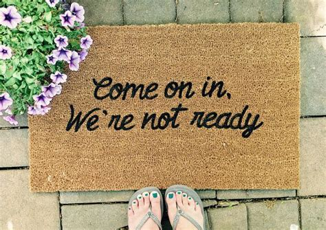 Doormats With Sayings by 25 Best Ideas About Doormats On