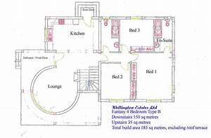 4 bedroom bungalow floor plan residential house plans 4 for Design of a four bedroom plan