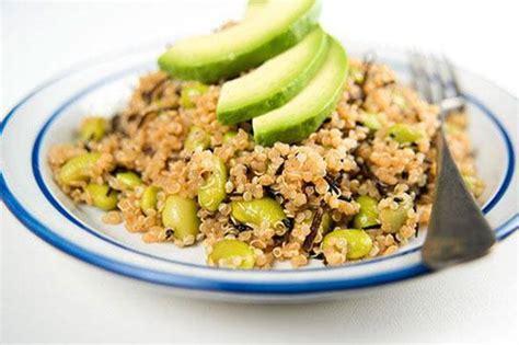 cuisine avocat salade de quinoa à l avocat envie de plus belge