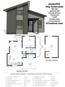 modern house plan studio500 modern tiny house plan 61custom