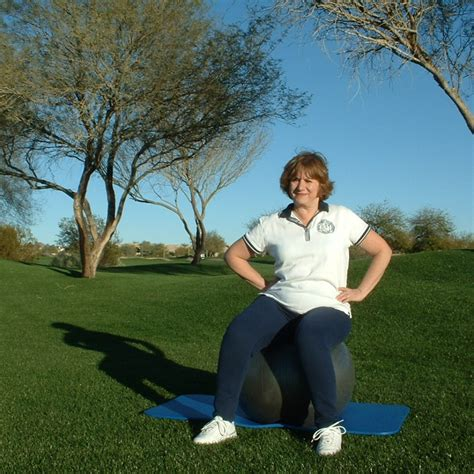 SEATED HIP TILTS - Fit For Golf Fit For Life!