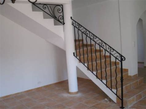 rambarde escalier fer forge ferronnerie re rambarde escalier et garde corps fer forge aix en provence ferronnerie d