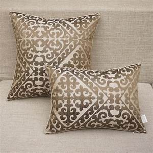 Sofa pillow cases blank cushion cover for thermo transfer for Sofa cushion covers 24x24