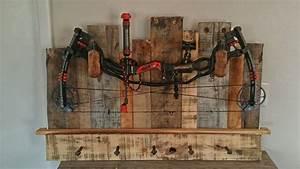 Rustic Bow Rack - by apehl @ LumberJocks com ~ woodworking